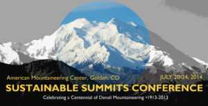 Sustainable Summits Conference 2014.