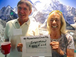 Sustainable Summits co-founders, Roger Robinson and Ellen Lapham.