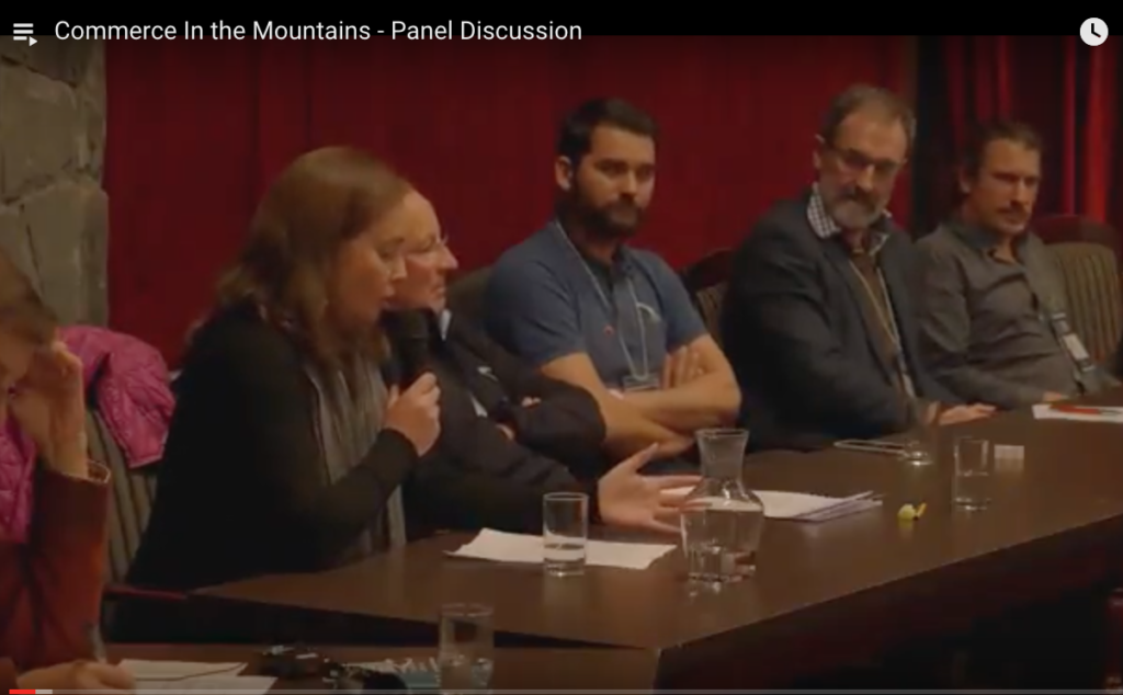 Commerce In the Mountains - Panel Discussion