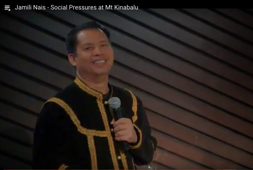 Jamili Nais - Social Pressures at Mt Kinabalu