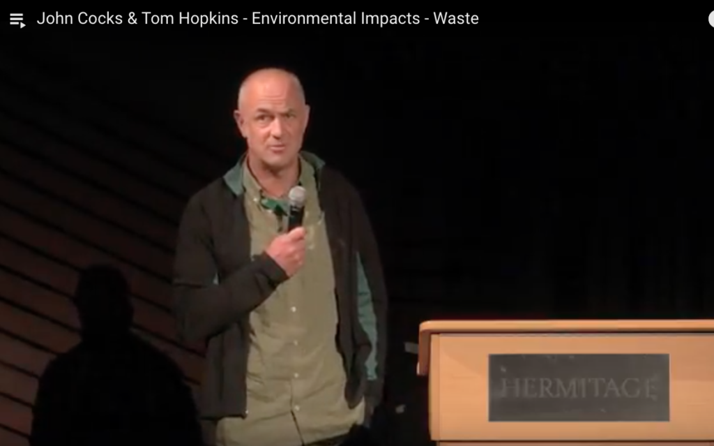 John Cocks & Tom Hopkins - Environmental Impacts - Waste