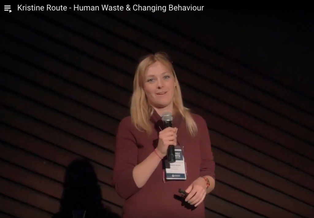 Kristine Route - Human Waste & Changing Behaviour