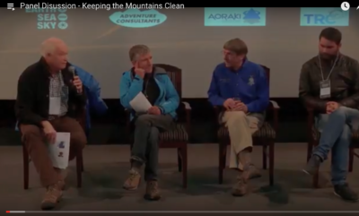 Panel Discussion - Keeping the Mountains Clean