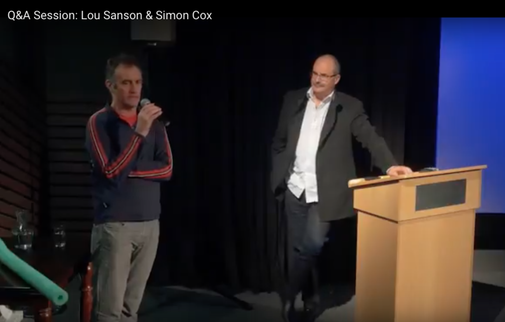 Panel Discussion - Lou Sanson and Simon Cox