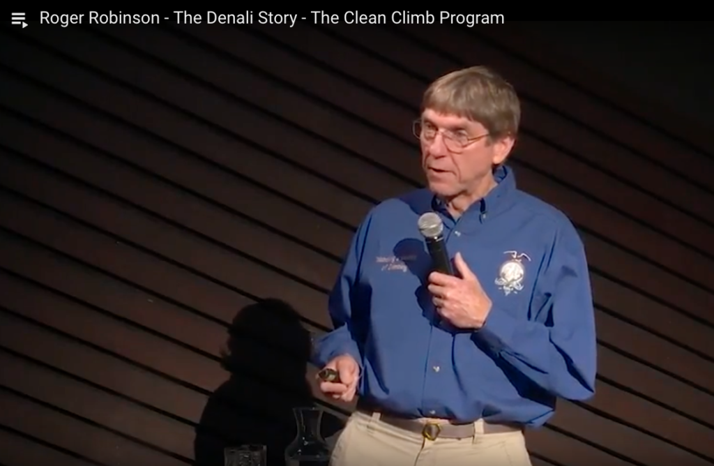 Roger Robinson - The Denali Story - The Clean Climb Program