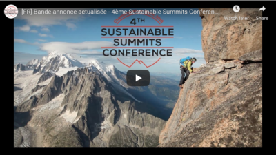 Sustainable Summits 2018 trailer FR